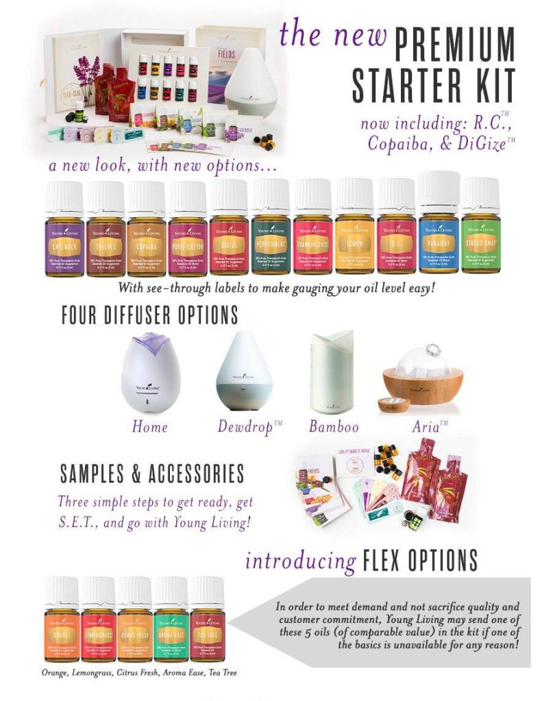 Young Living Introduces a Fab New Premium Starter Kit!